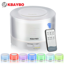 Control Remoto KBAYBO Aroma humidificador Ultrasónico 500 ml difusores de Aceites esenciales Aromaterapia purificador de fabricante de la niebla de Luz LED