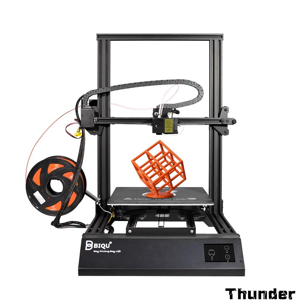 BIQU Thunder 3D imprimante i3 cadre en métal grande taille d'imprimante avec WIFI App nivellement automatique impresora 3d Drucker kit de bricolage bureau 3d