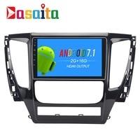 Dasaita 9 Android 7 1 Car GPS Player Navi For Mitsubishi Pajero Sport 2017 With 2G
