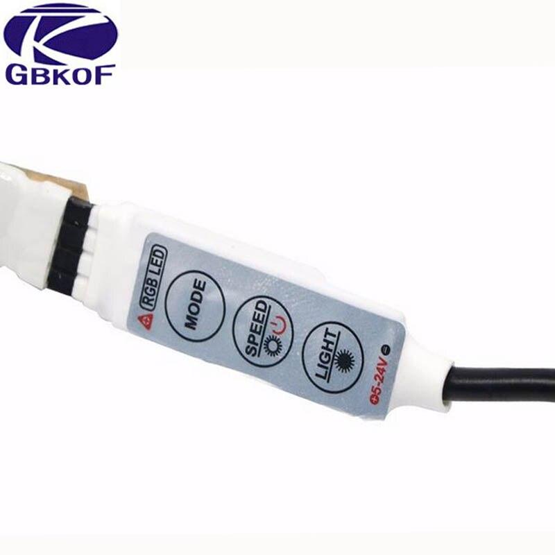 Tiras de Led rgb tira com 3key controlador Protection Rate : Ip65 Waterproof/ip20 Non-waterproof