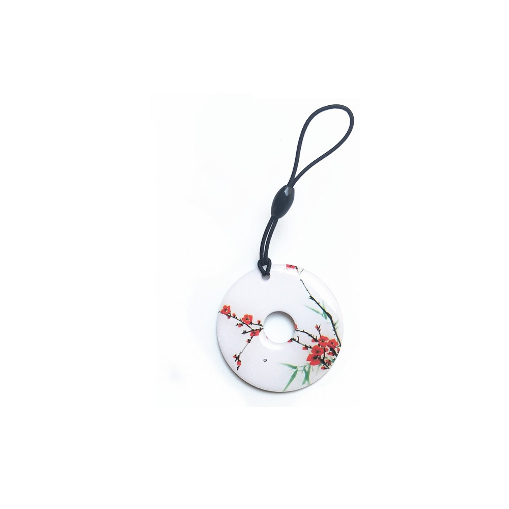 RFID 125KHz Writable Rewrite T5577 Keyfobs Proximity Access Tag 20pcs rfid card writable rewrite 125khz t5577 tag proximity access card for door lock