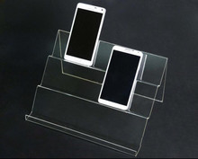 5pcs Multifunction Long Shelf Mobile cell Phone display stand Jewelry Holder Digital Products cigarette Wallet display rack цена и фото