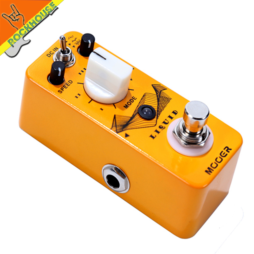 Mooer Liquid Phaser Guitar Pedal Phase Guitar Effects Pedal Built-in 5 very different Phasers Effects True Bypass Free Shipping mooer ninety orange phaser guitar effect pedal micro analog effects true bypass with free connector and footswitch topper