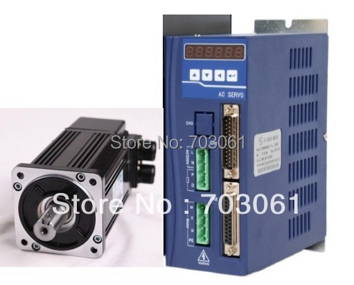 10% discount High reliability low inertia AC servo kits 750w servo motor with drive dcs810 leadshine digital dc brush servo drive servo amplifier servo motor controller up to 80vdc 20a new original