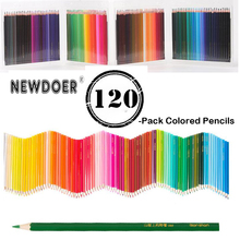 лучшая цена 120 color water-soluble / oily color lead high-level art color pencil painting watercolor pencil secret garden painted color pen