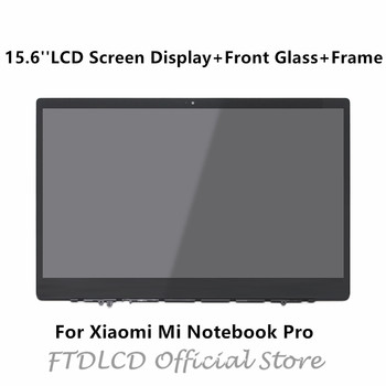 FTDLCD 15.6'' 1080P LED LCD Screen Display+Front Glass+Frame NV156FHM-N61 For Xiaomi Mi Notebook Pro