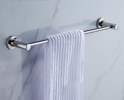 60cm Stainless Steel Bathroom Single Towel Bars Fashion Wall Mounted Rods Hanging Racks In From Home Improvement On Aliexpress