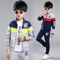 2017 Spring Boys sport Clothing Sets Tops+Pants Costume for Boy Fashion Kids Clothes Sports Suit for A Boy Children Clothes