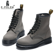 2019 Boots Women Genuine Leather Shoes For Winter Woman Fashion Warm Female