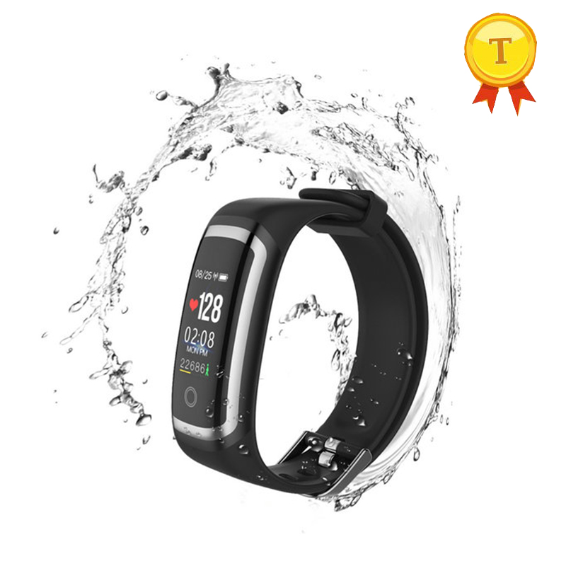 New IP67 waterproof smart band wristband dynamic static 24-hour continuous heart rate Monitoring Bluetooth pk xiomi mi band 3 цена