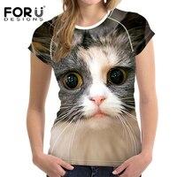 FORUDESIGNS-3D-Galaxy-Cat-Prints-Women-Summer-T-Shirt-Elastic-Woman-Tops-Fashion-T-shirt-For-Girls-Female-Tees-Brand-Clothes-4