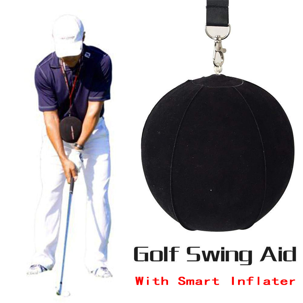 GOG Golf Swing Trainer Ball With Golf Smart inflatable Assist Posture Correction Training For Golfers Dropshipping New Black(China)