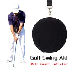 GOG Golf trening swingu golfowego piłka z inteligentnym nadmuchiwanym pomocnikiem korekta postawy trening dla golfistów Dropshipping Smart Impact Ball tanie tanio M1PJ106 Montaż Trener huśtawka