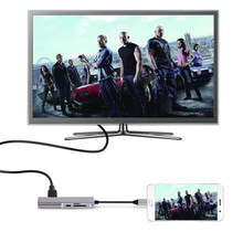 5 in 1 Multi-Port Hub Adapter ( Type-C to USB 3.0 / 4K HDMI USB-C  SD/TF ) for Apple Macbook Pro