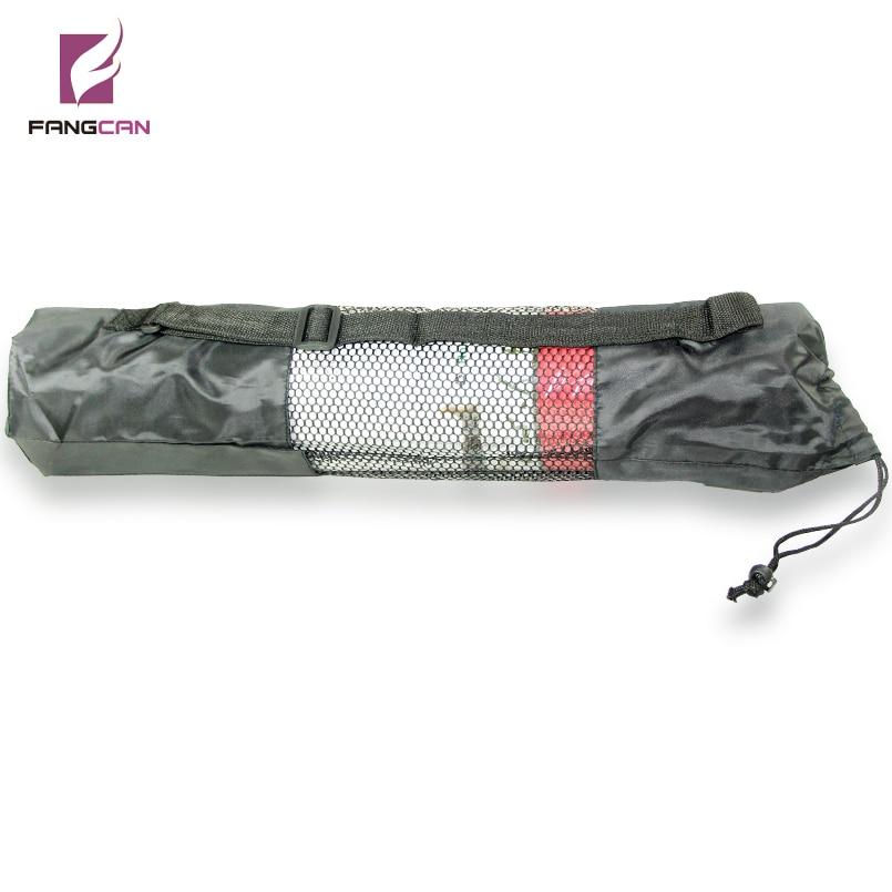 @1  1 шт. FANGCAN FCYA-02 Портативный Yoga Mesh Bag с Draw String Грязные доказательство Yoga Mat Bag Че ★