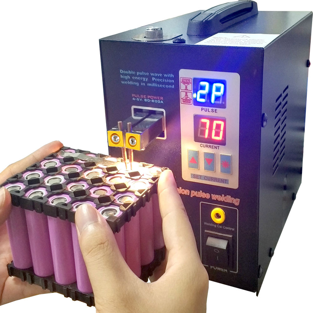 SUNKKO 737G battery spot welder 1 5kw precision pulse spot welder led light welding machine used