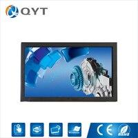 27 AIO Industrial Panel Pc Celeron 3855U 1 6GHz Resolution 1920 1080 4GB DDR4 32g SSD