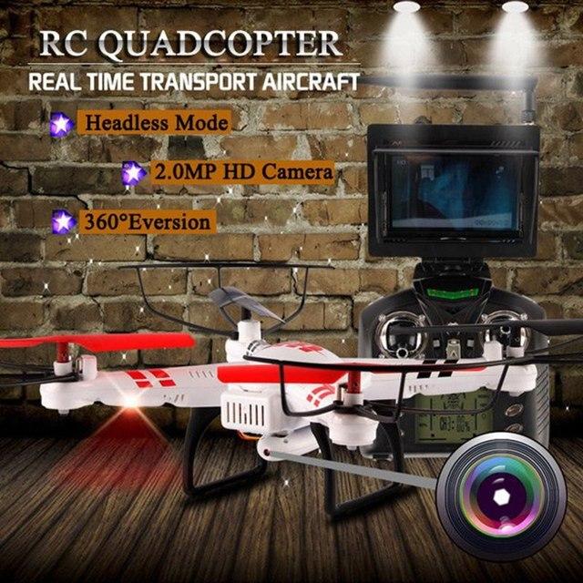 wltoys v686g dv686 dv686g fpv drone with camera headless mode rc quadcopter  2 4g 4ch 5 8