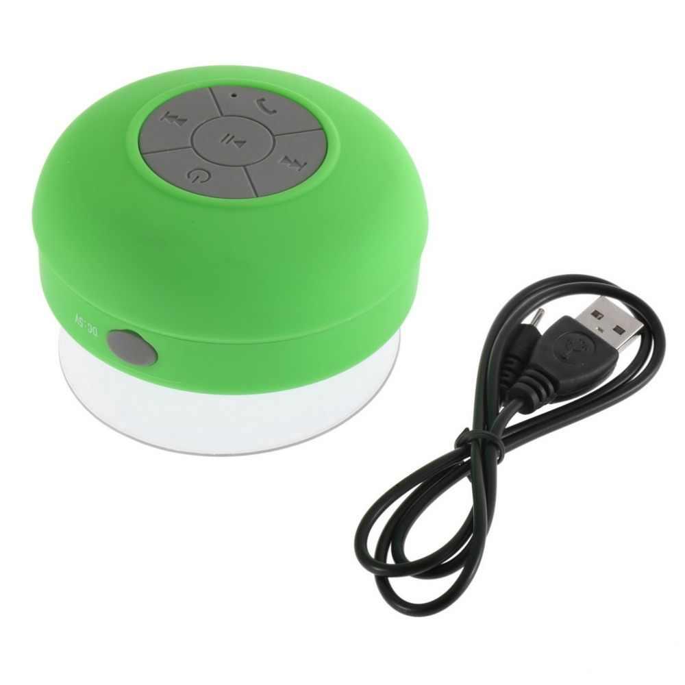 נייד עמיד למים Bluetooth רמקול אלחוטי רכב דיבורית לקבל שיחת מוסיקה יניקה מיקרופון מיני רמקול תיבת חם