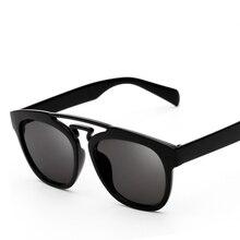Plastic material Cat Eye Sunglasses Women Luxury Brand Designer Metal Women Mirror Eyewear Shades oculos de sol feminino