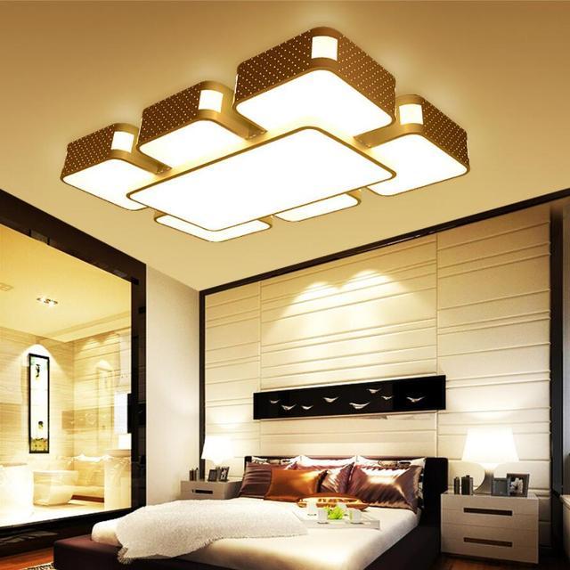 Moderne rechthoekige acryl led Kroonluchter led lampen High power ...