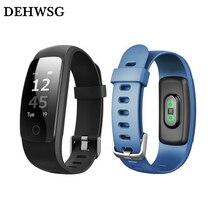 DEHWSG Новый смарт-браслет ID107 плюс Bluetooth 4.0 Фитнес-Трекер Сердце Rate monitor браслет Для IOS Android PK MI группа 2 s2