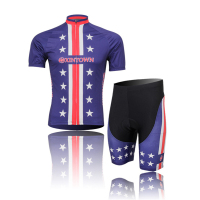 2016 Pop XINTOWN MEN S Quick Dry Ropa Ciclismo Purple Sportswear Clothes Cycling Jersey Bib Shorts