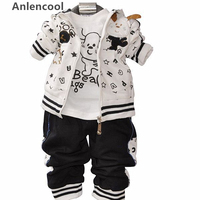 Free Shipping Pose Infant Valley 2013 Kids Sportswear Suits Children Clothing Newborn Baby Boy Autumn Clothes