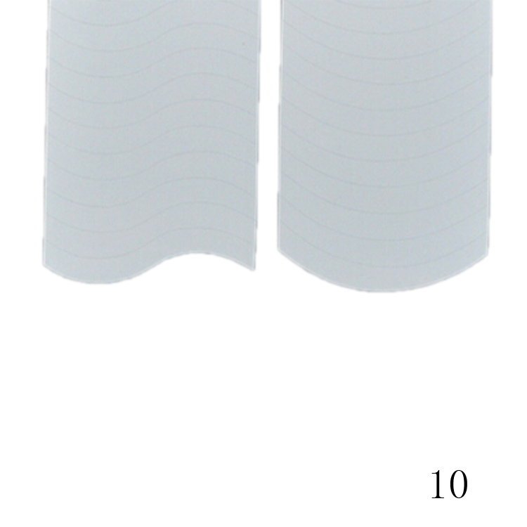 New Fashion 48PCS/Lot Nail Sticker DIY French Manicure Nail Art Decorations Round Form Fringe Guides Nail Sticker 16