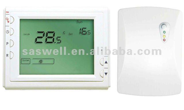 RF wireless thermostat  radiant heating