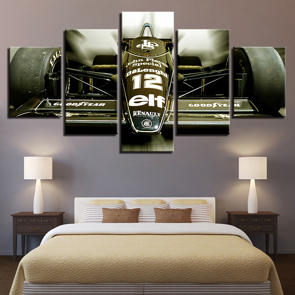 HD Printed Modern Wall Art Pictures Framework 5 Pieces Sports Car Racing Game Paintings Modular Canvas Posters Home Decoration