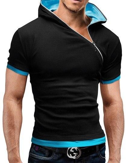 Men's Zipper Shirt Tops...