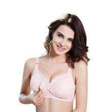 90112434f7 New Fashion Women Nursing Maternity Bras Pregnant Mother Cotton Breast  Feeding Wireless Bra New Arrival V1