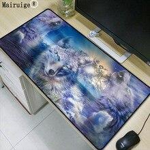 Mairuige Wolf Animal 600x300x2mm Gaming Large Mouse Pad Locking Edge Mouse Mat Pad Game Computer Desk Padmouse Keyboard Mats