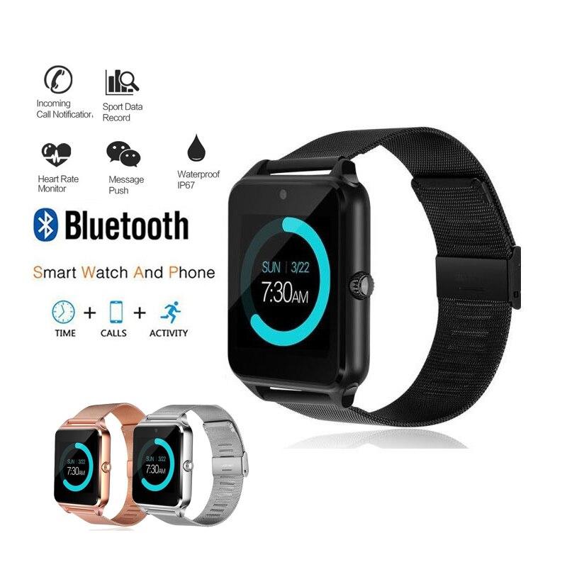 NEUE Smart Uhren frauen Sport Uhr Männer 2018 Digitale Bluetooth Fashion Ladies Heart Rate Monitor erkek kol saati Android IOS