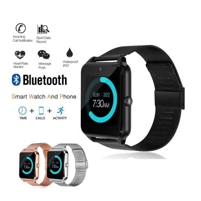 NEW font b Smart b font Watches Women s Sport Watch Men 2018 Digital Bluetooth Fashion
