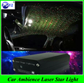 1 Set USB Plug Car Interior Ambient Light Mini DJ Club Disco Projector music Stage RGB laser star light Control Function lamp