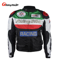 Riding Tribe BLUE/GREEN Racing Jackets Motocross Jaqueta Motoqueiro Blouson Campera Moto Liner Motorcycle Protective Jackets