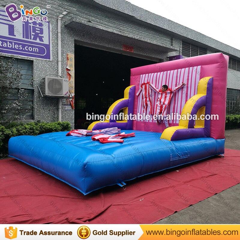 ПВХ брезент 4x5x3 метра надувной комбо Батут/воздушный батут надувной батут детские игрушки