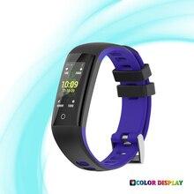 Купить с кэшбэком 2018 Smart Bracelet D16 Smartband waterproof sleep monitor Fitness Bracelet Smart Watch Call Alarm For iOS Android PK Miband 3