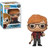 Official Funko pop Rocks: Ed Sheeran Vinyl Action Figure Collectible Model Toy with Original Box
