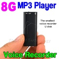 Mini 3 in 1 Stereo MP3 Music Player 8GB Memory Storage USB Flash Drive Mini Digital Audio Voice Recorder Pen Dictaphone