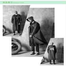 Raincoat EVA Environmental Casual Fashion Travel Long hooded 039