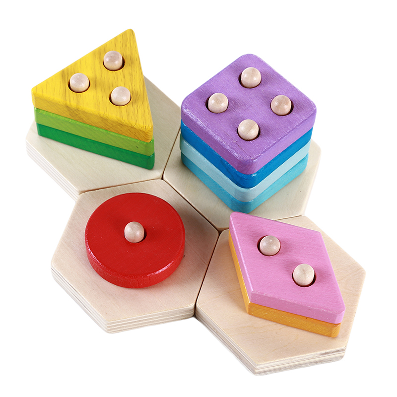 Learning Education Wooden Toys Children's Puzzle 3D Magic Cube Children's Educational Toys Montessori Puzzle