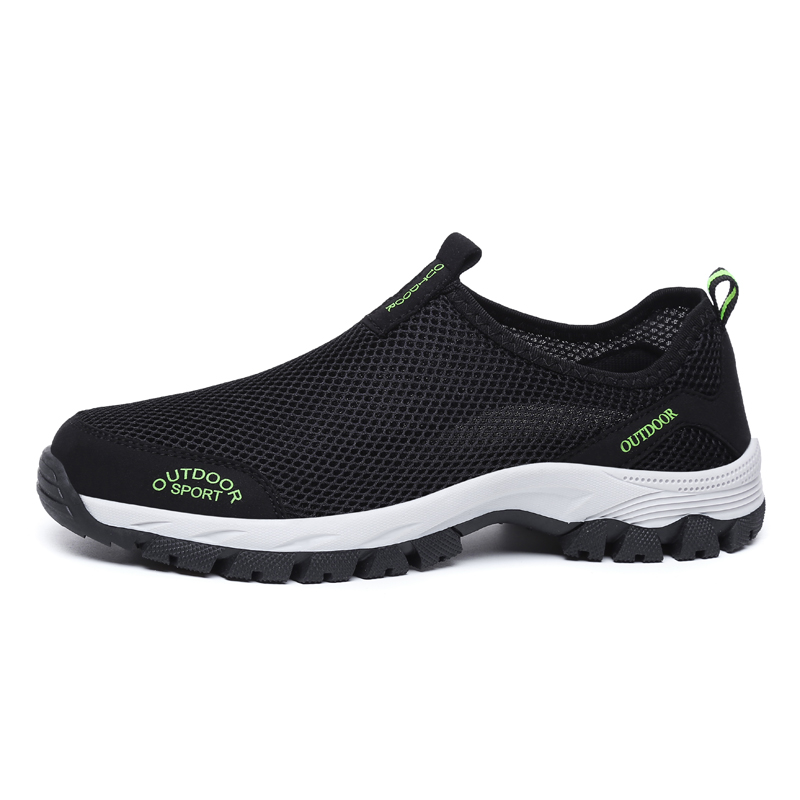 Summer Mens Breathable Mesh Casual Slip On Loafers Running Water Sports Shoes Sz