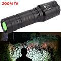 Poderoso 2300Lm CREE XML T6 Tático Lanterna LED flash de luz Zoomable led Use 18650/26650 Bateria