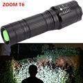Powerful 2300Lm CREE XML T6 Tactical LED Flashlight Zoomable led flash light Use 18650/26650 Battery