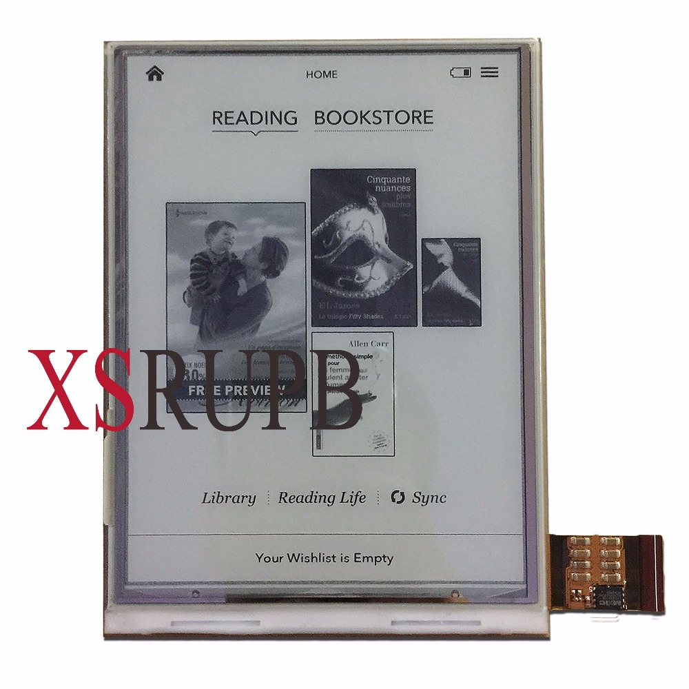 ЖК-дисплей для электронных книг Digma r658 ONYX BOOX C67SM Bering 2, экран 6 дюймов, замена