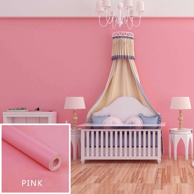 DIY Decorative Film PVC Self Adhesive Wall Paper Furniture Renovation Stickers Kitchen Cabinet Waterproof Wallpaper
