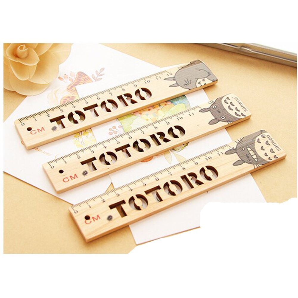 Limit Shows Novelty Out My Neighbor Cat Wooden Ruler Measuring Straight Ruler Tool Promotional Gift Stationery Set Hot Selling